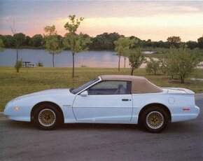 For the first time since 1969, Pontiac offered a Friebird convertible in 1991. See more Pontiac Firebird pictures.