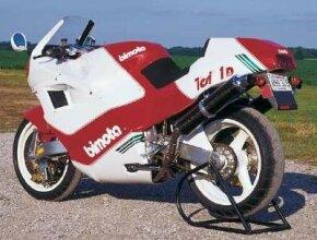 The 1992 Bimota Tesi featured hub-center steering.