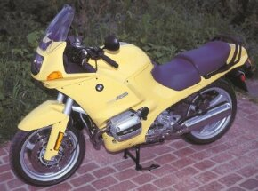 """The 1994 BMW R1100RSL retained BMW's traditional """"boxer"""" twin. See more motorcycle pictures."""