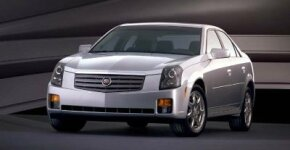 After a rough period, Cadillac introduced successful new models in the 2000s, like this 2003 Cadillac CTS.