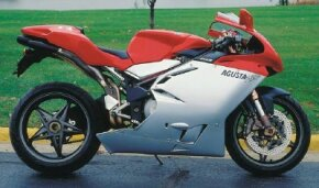At just 445 pounds, the MV August F4 Strada was a lightweight for the 750-cc class.