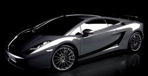 Several of the new Superleggera's body panels are replaced with carbon-fiber copies: front hood, rear engine cover, side skirts, the rear air diffuser below the exhaust outlets, even the door-mirror housings and the underbody tray.