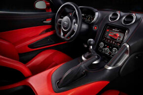 In the higher-priced GTS model, you get standard Napa leather upholstery or optional Italian Laguna leather.