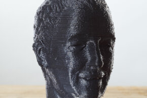 """This bust was created by a 3-D printer. Can a replication of Michelangelo's """"David"""" be far behind?"""