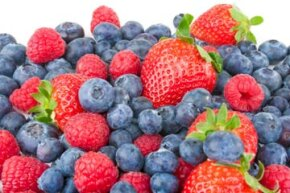 Who said healthy foods can't taste good? There's nothing like berries for a tasty snack.