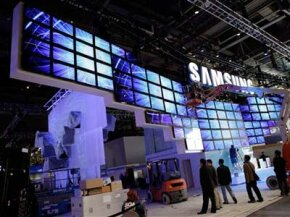 At CES, the big exhibitors try to top one another by having the most impressive booth.