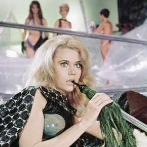 "Orbital intercourse will most likely involve interlocking garments, anchoring Velcro straps and a great deal of awkwardness. Just go ahead and forget anything you saw in ""Barbarella."""