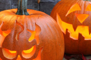 Carve your pumpkin into a work of art with one of these easy patterns.