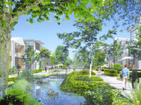 Dockside Green is slated to be North America's first carbon-neutral community.