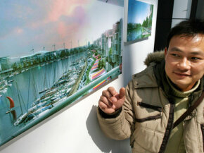 Dongtan will include urban developments and ecological parks.