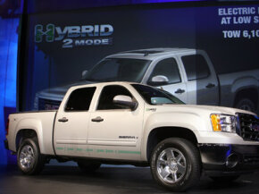 If you have to drive a truck, a hybrid may be your most eco-friendly option. But an oversized hybrid is no comparison to a standard compact car.