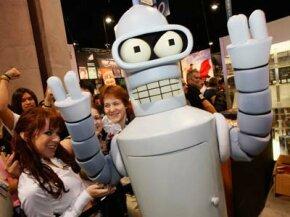 Futurama's Bender would not approve of 21st century sewage bots.