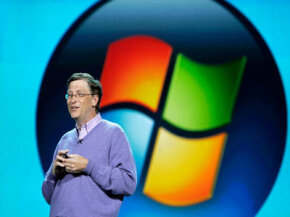 Despite its cutting-edge business ideas, Microsoft isn't known for its technological innovation.