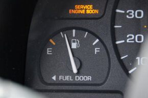 Pay attention to your car's warning lights.