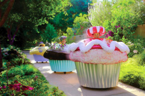 These $25,000 customized Cupcake Cars are made of fabric, wood and sheet metal. They're powered by a 24-volt electric motor.