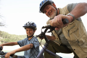 Near or far, kids and grandparents can stay connected and involved in each other's lives.