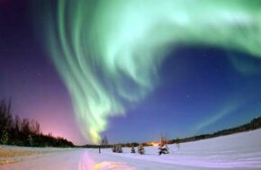 The aurora borealis is also called the northern lights and is best viewed in northern climates.
