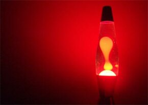 The lava lamp is one of several groovy fads born in the 1960s.