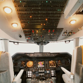 Commercial airliners have a lot of controls, so you need specialized skills to fly them. Some of the September 11 hijackers took flying lessons in America.