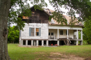 Having a home demolished can take awhile.