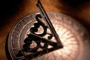 The timepiece of the past: a sundial