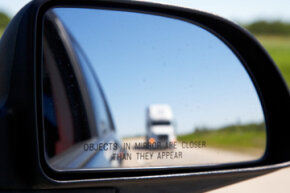 That pesky hiding place near your car's rear fenders is known as the blind spot -- and yes, it's dangerous. See more pictures of car safety.
