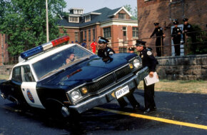 "Bodily Feats Pictures Can adrenaline explain why a person could lift a car like Bubba Smith as Lt. Moses Hightower in the comedy ""Police Academy""? See more bodily feats pictures."