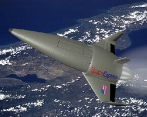 Air-breathing rocket-powered spacecraft could be the common man's ride into space. See more rocket pictures.