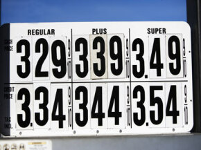 Could air cars make gas prices like these a memory?­ See pictures of alternative fuel vehicles.