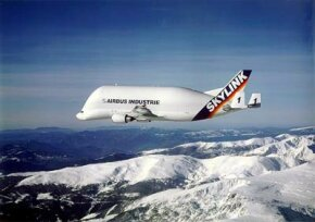 The Airbus A300-600ST Super Transporter (otherwise known as the Beluga)