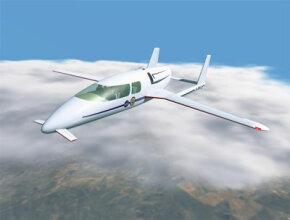 Artist concept of SATS aircraft