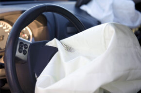 Airbags became mandatory in the mid-to-late '90s, but it took a while to bring them up to today's standards.