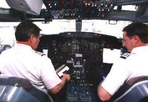 Southwest pilots preparing for takeoff