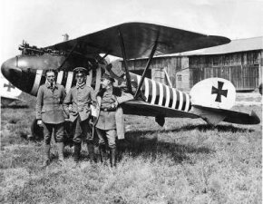 More than 1,050 Albatros D.V and Albatros D.Va fighter planes were active over the Western Front and elsewhere in 1918.