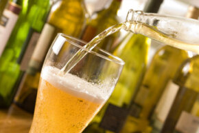Can a glass of beer affect your skin's health?