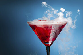 Inhaling vapor from an alcoholic drink is entirely different from sipping a cocktail, and devices called vaporizers can help you to do it.