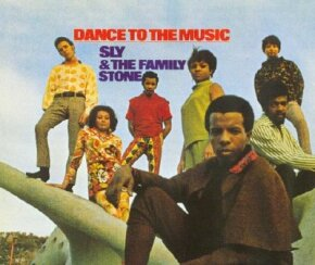 Sly & the Family Stone's music, which combined soul, funk, and psychedelia, became popular after their performance at Woodstock.