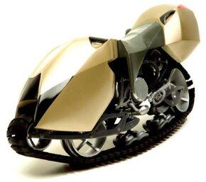 The Hyanide motorbike