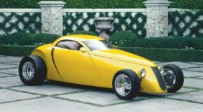 Larry Erickson's Aluma Coupe changed the way automakers thought about hot rods. See more hot rod pictures.