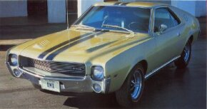 AMC became a muscle car contender with offerings like the 1968 AMC AMX.See more muscle car pictures.