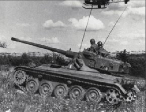 The French AMX-13 Light Tank was used as a tank destroyer and for reconnaissance. It had an oscillating turret, and its 90mm main gun was equipped with an automatic loader. See more tank pictures.