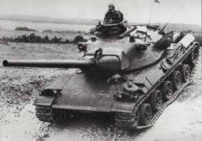 The AMX-30 Main Battle Tank resulted from design work begun in the 1950s under a joint Franco-German agreement. See more tank pictures.