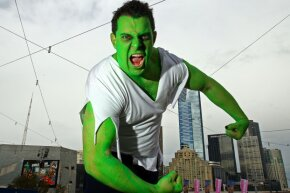 You don't even have to paint yourself green or don a cape. Some of us mere mortals are born with amazing abilities.