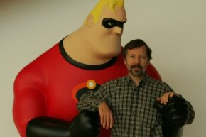 Ed Catmull with Mr. incredible in 2004
