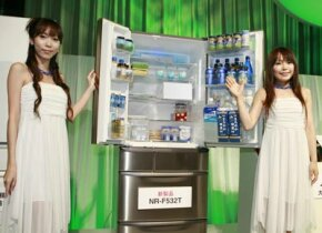 A new refrigerator in Japan by Matsushita uses a silver ion filter to kill 99.9% of bacteria in the unit.