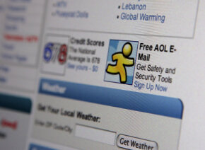 AOL Mail provides free e-mail services to nonsubscribers.
