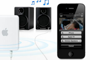 Apple AirPlay lets you stream music or movies from iTunes or your mobile Apple device to any AirPlay-enabled device on the same network.