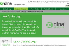 """The DLNA has certified the interoperability of digital products since 2004, allowing those products to boast the """"DLNA Certified"""" logo."""