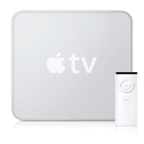 It's only about 8 inches (20 centimeters) square, but Apple TV packs as much power as some computers. See more TV evolution pictures.