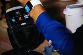 Will the Apple Watch and its tap-to-pay feature capture the hearts of consumers the way other tech from the company has?